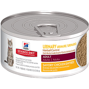 Hill's Science Best Cat Food for Urinary Problems